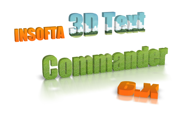 3D Text Commander: sample 1