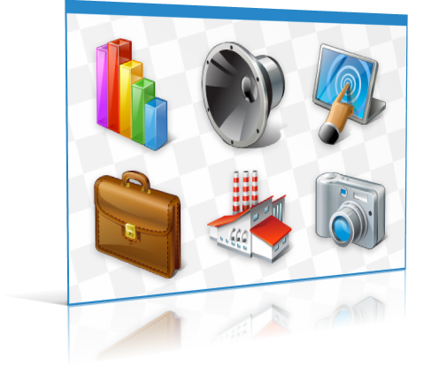 Professional icon collections: Stock Icons