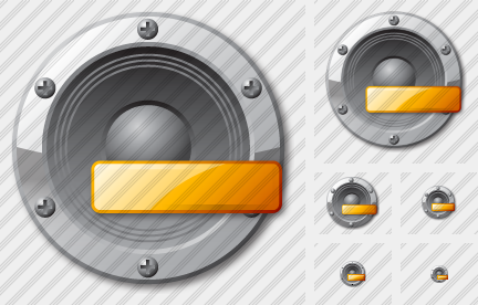 Audio Minus Icon