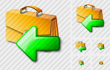 Breafcase Import Icon