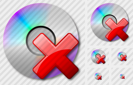 CD Delete Icon