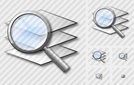 Layer Search Icon