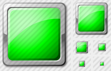 Rect Green Icon