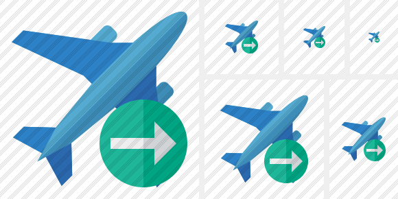 Airplane 2 Next Icon