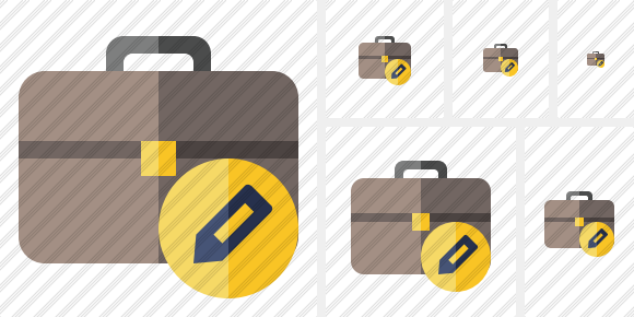 Briefcase Edit Icon