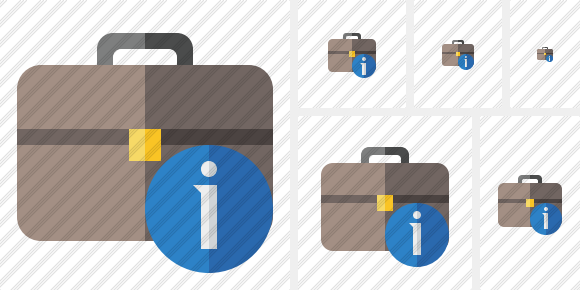 Briefcase Information Icon