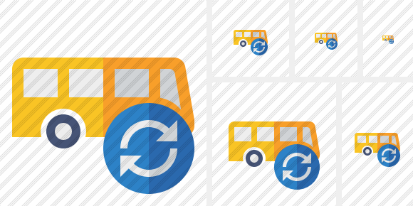Bus Refresh Icon