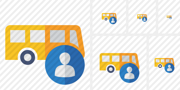 Bus User Icon