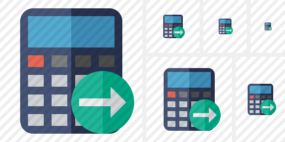 Calculator Next Icon