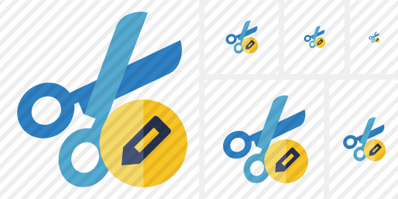 Cut Edit Icon
