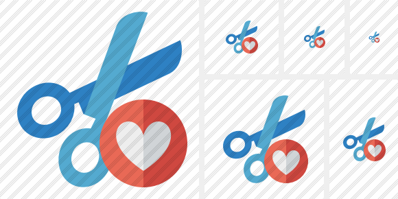 Cut Favorites Icon