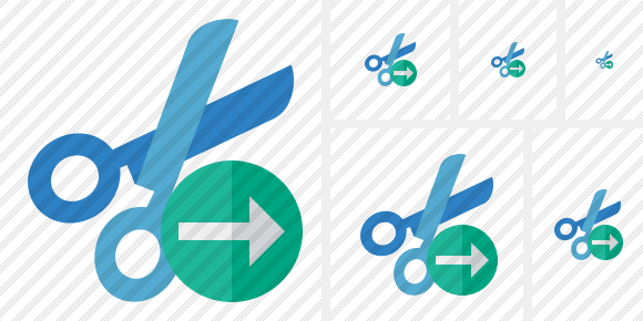 Cut Next Icon