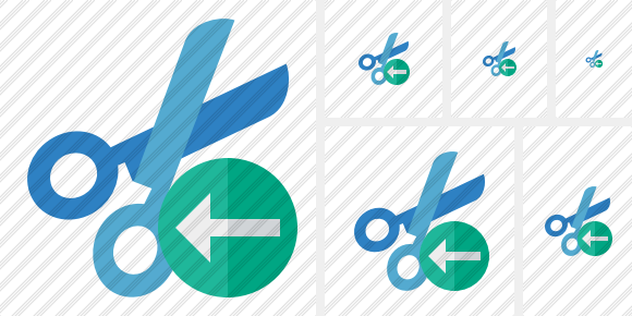 Cut Previous Icon