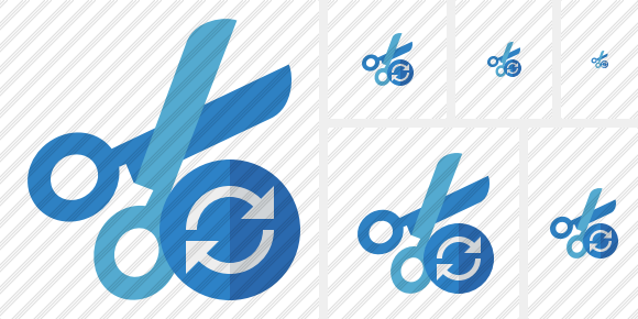 Cut Refresh Icon