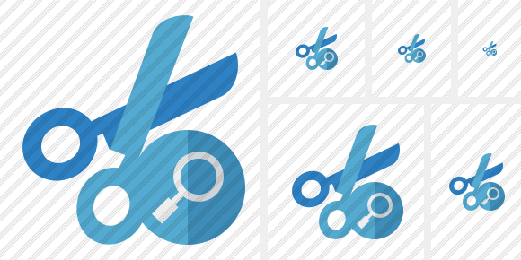 Cut Search Icon