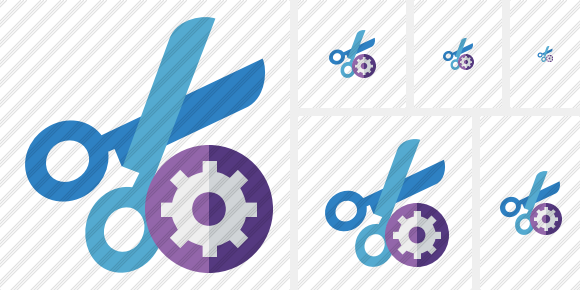 Cut Settings Icon