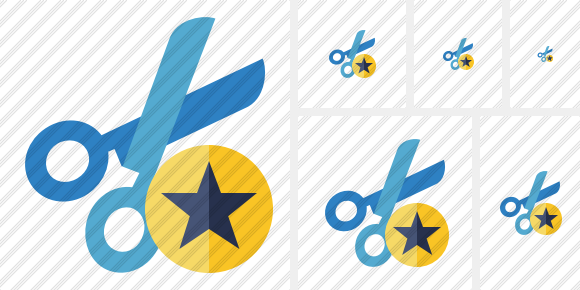 Cut Star Icon