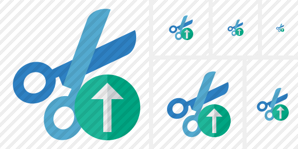 Cut Upload Icon