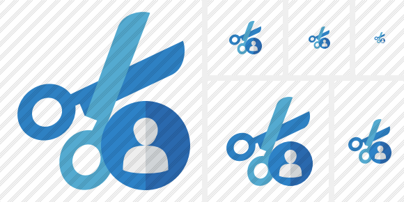 Cut User Icon