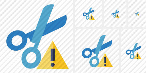 Cut Warning Icon