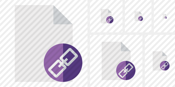 Document Blank Link Symbol