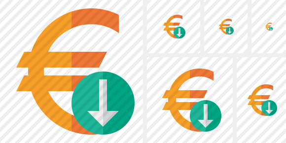 Euro Download Symbol