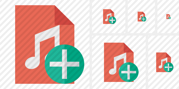 File Music Add Symbol