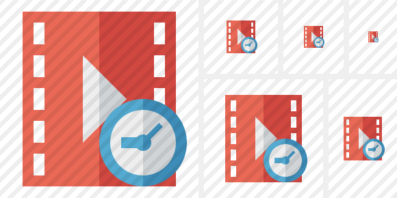 Movie Clock Icon