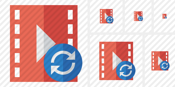 Movie Refresh Icon