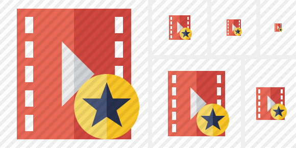 Movie Star Symbol