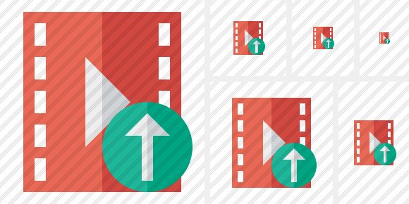 Movie Upload Symbol