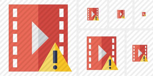 Movie Warning Symbol