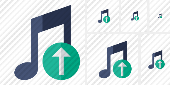 Music Upload Symbol