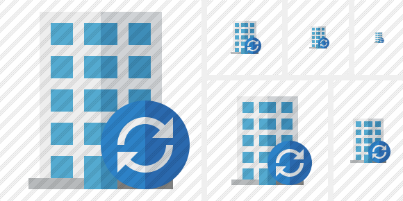 Office Building Refresh Icon