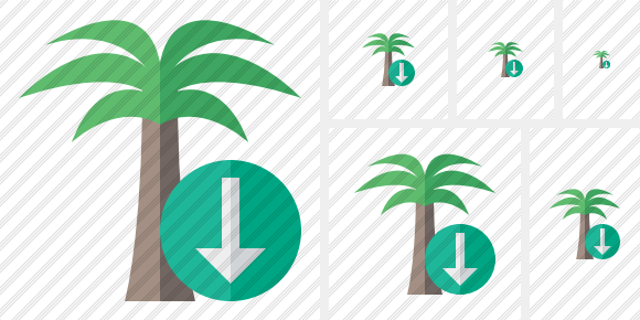 Palmtree Download Symbol