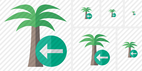 Palmtree Previous Icon