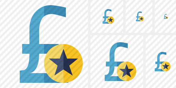 Pound Star Icon