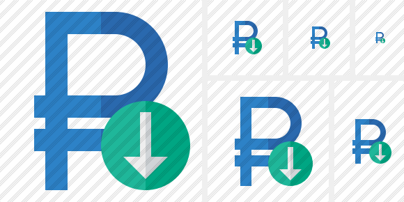 Ruble Download Icon