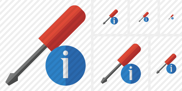 Screwdriver Information Symbol