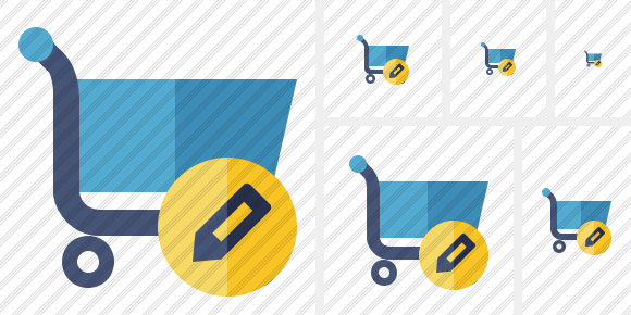 Shopping Edit Symbol