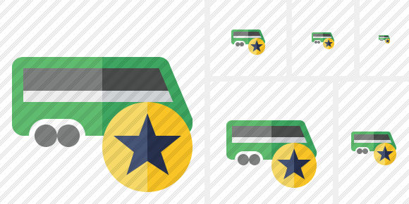 Train Star Icon