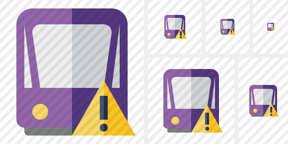 Tram 2 Warning Icon
