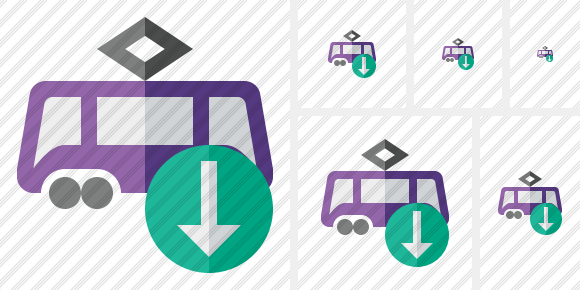 Tram Download Symbol