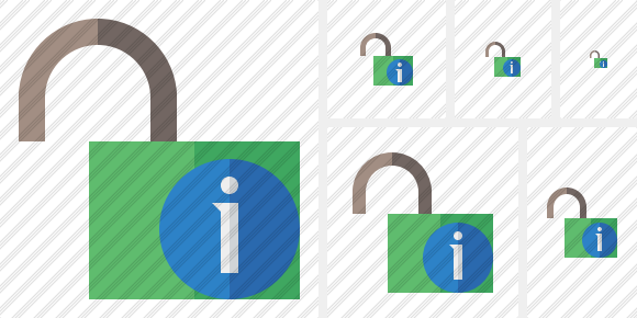 Unlock Information Icon