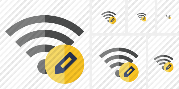 Wi Fi Edit Icon