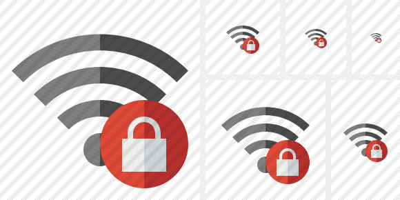 Wi Fi Lock Icon