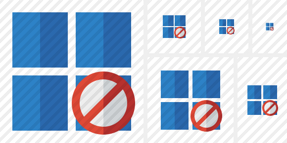 Windows Block Icon