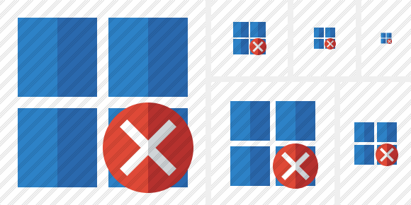 Windows Cancel Icon