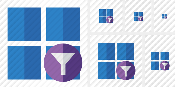 Windows Filter Icon