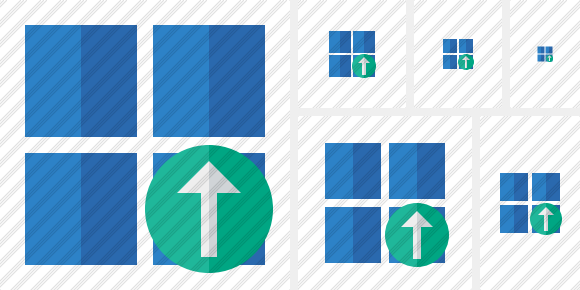 Windows Upload Icon